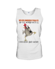Chicken And Wine Unisex Tank thumbnail