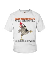 Chicken And Wine Youth T-Shirt tile