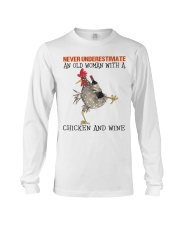 Chicken And Wine Long Sleeve Tee tile