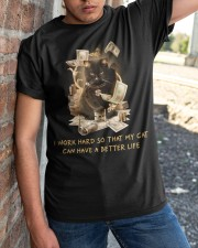 Cat Can Have A Better Life Classic T-Shirt apparel-classic-tshirt-lifestyle-27