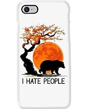 I Hate People Phone Case tile