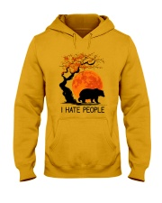 I Hate People Hooded Sweatshirt front