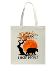 I Hate People Tote Bag tile