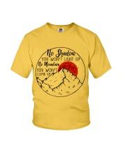 No Shadow No Mountain Youth T-Shirt thumbnail