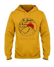 No Shadow No Mountain Hooded Sweatshirt front