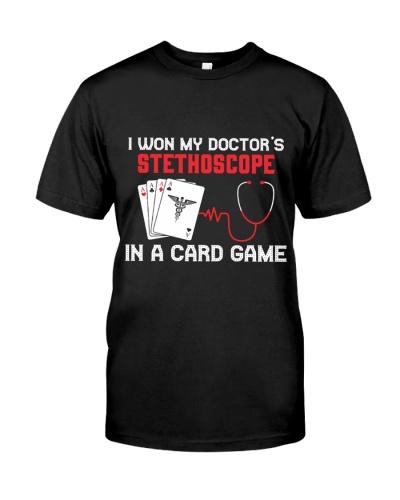 I Won My Doctor's Stethoscope