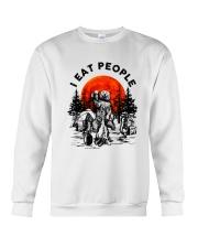 I Eat People Crewneck Sweatshirt thumbnail