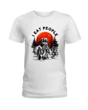 I Eat People Ladies T-Shirt thumbnail
