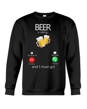 Beer Is Calling Crewneck Sweatshirt thumbnail