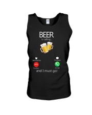 Beer Is Calling Unisex Tank thumbnail