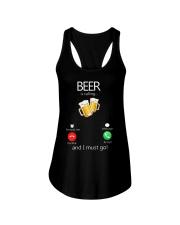 Beer Is Calling Ladies Flowy Tank thumbnail