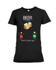 Beer Is Calling Premium Fit Ladies Tee thumbnail