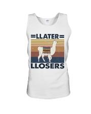 Llater Llosers Unisex Tank thumbnail