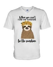 Be The Sunshine V-Neck T-Shirt thumbnail