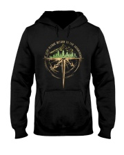 To The Mountains Hooded Sweatshirt front