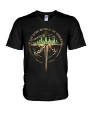 To The Mountains V-Neck T-Shirt thumbnail