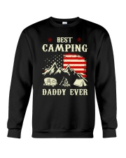 Best Camping Daddy Ever Crewneck Sweatshirt thumbnail