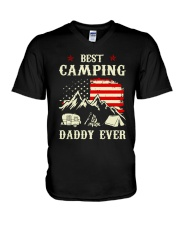 Best Camping Daddy Ever V-Neck T-Shirt tile