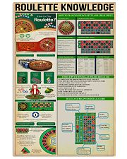 Roulette Knowledge 11x17 Poster front