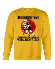 The Power Of A Woman Crewneck Sweatshirt thumbnail