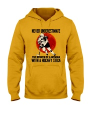 The Power Of A Woman Hooded Sweatshirt thumbnail