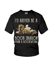 Book Dragon Than A Bookworm Youth T-Shirt tile