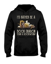 Book Dragon Than A Bookworm Hooded Sweatshirt thumbnail