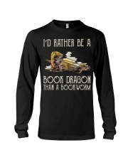 Book Dragon Than A Bookworm Long Sleeve Tee thumbnail