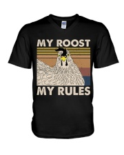 My Roost My Rules V-Neck T-Shirt thumbnail