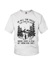 Of All The Paths You Take In Life Youth T-Shirt thumbnail