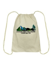 Find Your Soul Drawstring Bag tile