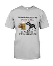 Doberman Pinscher Classic T-Shirt front