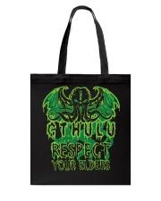 Respect Your Elders Tote Bag thumbnail