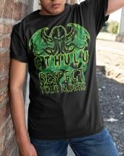 Respect Your Elders Classic T-Shirt apparel-classic-tshirt-lifestyle-27