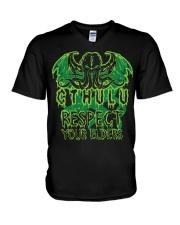 Respect Your Elders V-Neck T-Shirt thumbnail