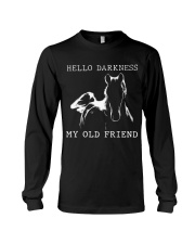 Hello Darkness My Old Friend Long Sleeve Tee thumbnail