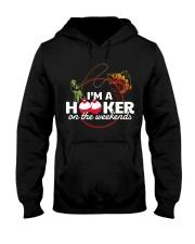 Im a Hooker Hooded Sweatshirt thumbnail