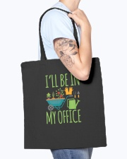 I'll Be In My Office Tote Bag accessories-tote-bag-BE007-front-model-02