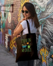 I'll Be In My Office Tote Bag lifestyle-totebag-front-1