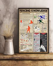 Fencing Knowledge 11x17 Poster lifestyle-poster-3