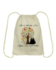 Life Is Better With Drawstring Bag thumbnail