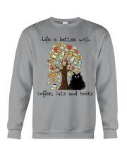 Life Is Better With Crewneck Sweatshirt thumbnail