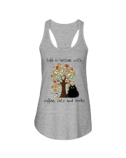 Life Is Better With Ladies Flowy Tank thumbnail