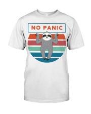 No Panic Classic T-Shirt front