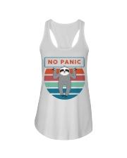 No Panic Ladies Flowy Tank thumbnail