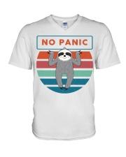 No Panic V-Neck T-Shirt thumbnail