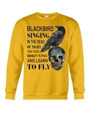 Blackbird Singing Crewneck Sweatshirt front