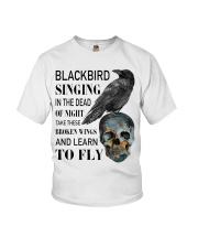 Blackbird Singing Youth T-Shirt thumbnail
