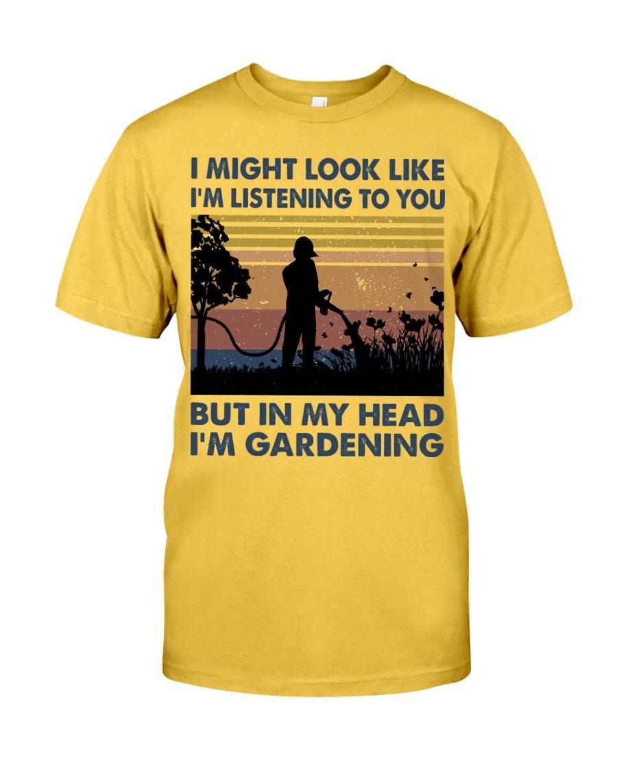 I'm Listening To Tou Classic T-Shirt