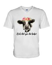 But Did You Die Heifer 3 V-Neck T-Shirt thumbnail